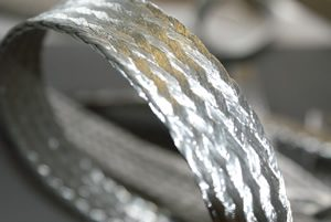 Flat Stainless Steel Braid